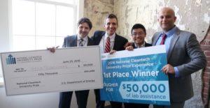 Heila Wins Cleantech University Prize